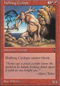 Hulking Cyclops - Visions