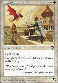 Longbow Archer - Visions