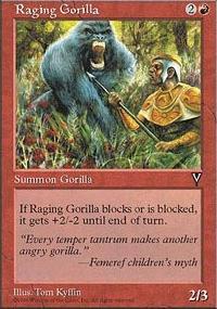 Raging Gorilla - Visions