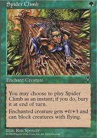 Spider Climb - Visions