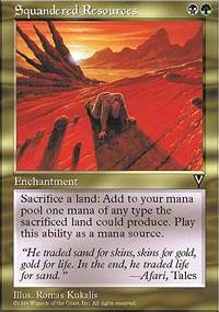 Squandered Resources - Visions