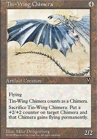 Tin-Wing Chimera - Visions