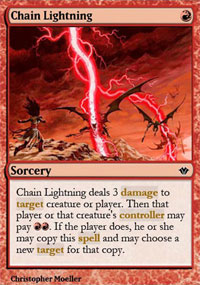 Chain Lightning - Vintage Masters