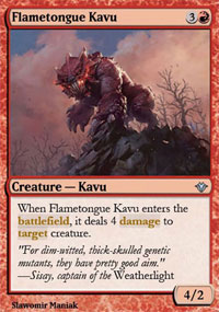 Flametongue Kavu - Vintage Masters