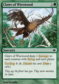 Claws of Wirewood - Vintage Masters