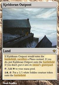 Kjeldoran Outpost - Vintage Masters