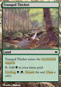 Tranquil Thicket - Vintage Masters