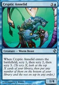 Cryptic Annelid - Venser vs. Koth