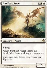 Sunblast Angel - Venser vs. Koth