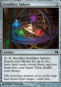 Armillary Sphere - Venser vs. Koth