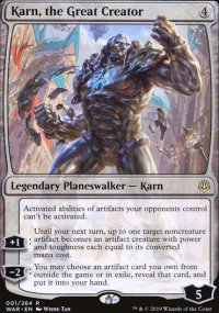 Karn, the Great Creator -