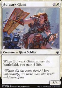 Bulwark Giant - War of the Spark