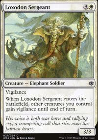 Loxodon Sergeant - War of the Spark