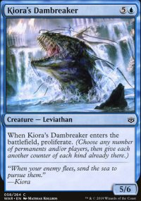 Kiora's Dambreaker - War of the Spark