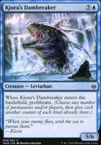 Kiora's Dambreaker -