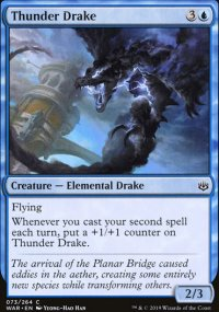 Thunder Drake - War of the Spark