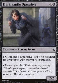 Duskmantle Operative -