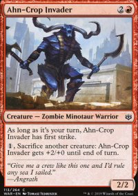 Ahn-Crop Invader - War of the Spark