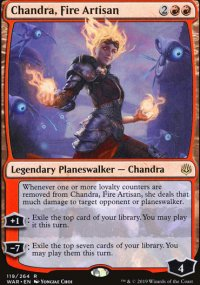 Chandra, Fire Artisan - War of the Spark