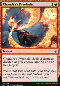 Chandra's Pyrohelix - War of the Spark