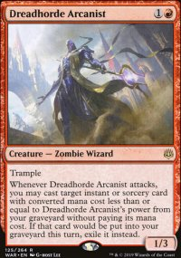 Dreadhorde Arcanist - War of the Spark