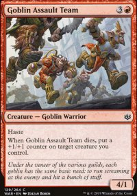 Goblin Assault Team -
