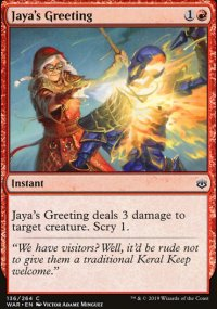 Jaya's Greeting - War of the Spark