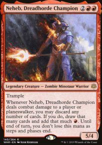 Neheb, Dreadhorde Champion - War of the Spark