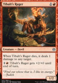 Tibalt's Rager - War of the Spark