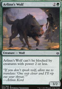 Arlinn's Wolf - War of the Spark