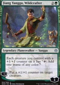 Jiang Yanggu, Wildcrafter - War of the Spark