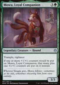 Mowu, Loyal Companion -