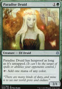 Paradise Druid - War of the Spark