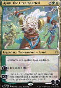 Ajani, the Greathearted -