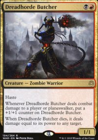 Dreadhorde Butcher - War of the Spark