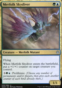 Merfolk Skydiver -