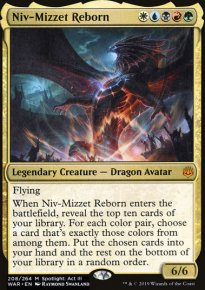Niv-Mizzet Reborn - War of the Spark
