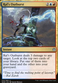 Ral's Outburst - War of the Spark