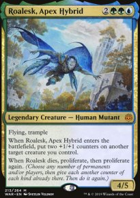 Roalesk, Apex Hybrid - War of the Spark