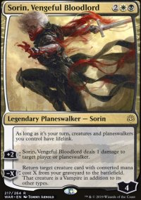 Sorin, Vengeful Bloodlord - War of the Spark