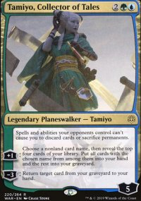 Tamiyo, Collector of Tales -