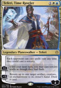 Teferi, Time Raveler - War of the Spark