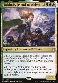Tolsimir, Friend to Wolves - War of the Spark