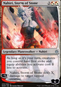 Nahiri, Storm of Stone - War of the Spark