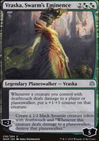 Vraska, Swarm's Eminence - War of the Spark