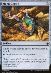 Mana Geode - War of the Spark