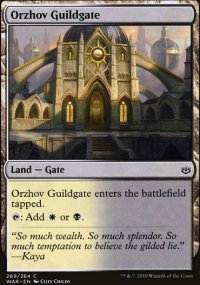 Orzhov Guildgate - War of the Spark