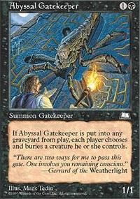 Abyssal Gatekeeper - Weatherlight