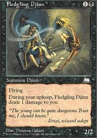 Fledgling Djinn - Weatherlight