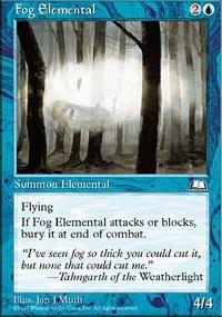 Fog Elemental - Weatherlight